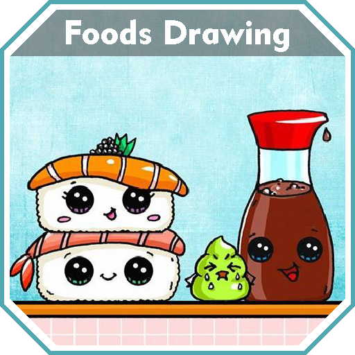 Cute food pictures to draw step by