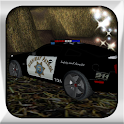 Police Hill Climb Racing icon