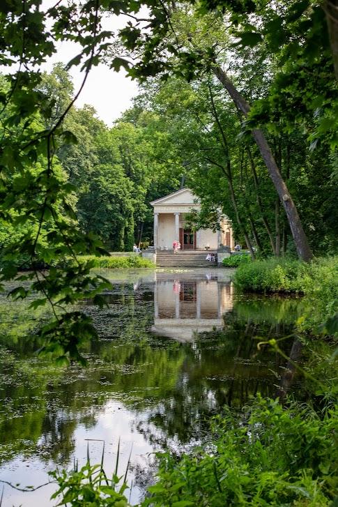 Świątynia Diany, Arkadia, Romantyczny park w Arkadii, Polska
