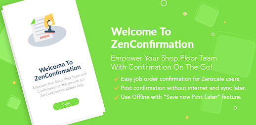 ZenConfirmation APK