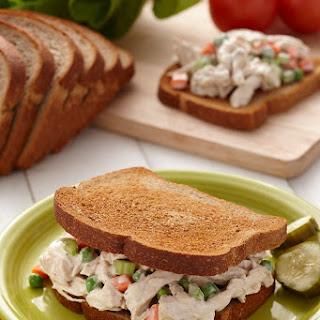 Garlic Chicken Salad Sandwiches.