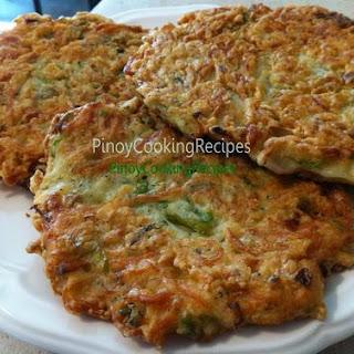 Ukoy / Silverfish Omelette