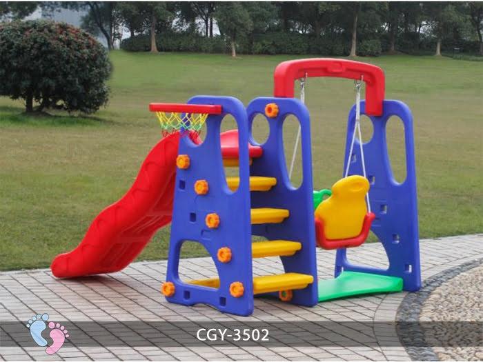Cầu trượt trẻ em đa năng YGC-3503 4