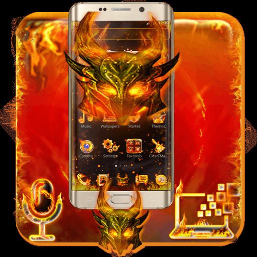 Fire Hell Dragon Theme