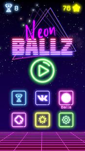 Neon Ballz: Brick Breaker - náhled