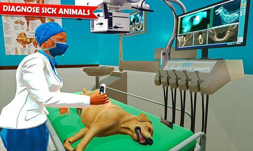 Pet Hospital Vet Clinic Animal Vet Pet Doctor Game apkdebit screenshots 1