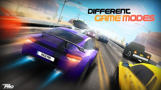 Race Pro: Speed Car Racer in Traffic MOD (Unlimited Gold Coins) 4