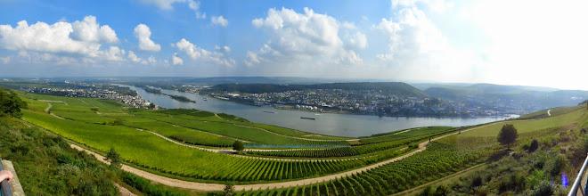 Photo: Panoramaudsigt fra Niederwaldmonumentet