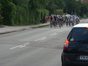 Photo: De forreste cykelryttere