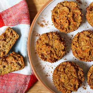 Spiced Carrot Cardamom Muffins