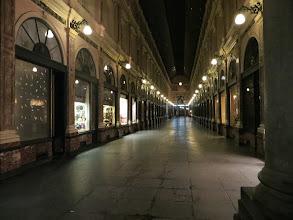 Photo: La galerie du Roi. Galerie marchande couverte à Bruxelles.