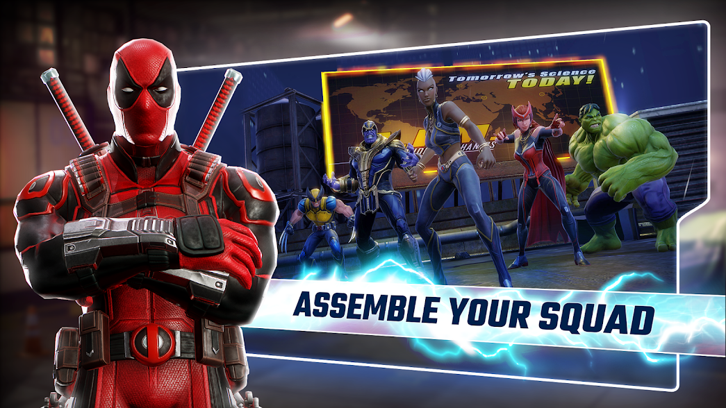 MARVEL Strike Force - MOD APK Free Skills 1 4 0 - SoftAz Net