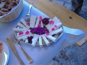 Photo: fiori ed il nostro formaggio