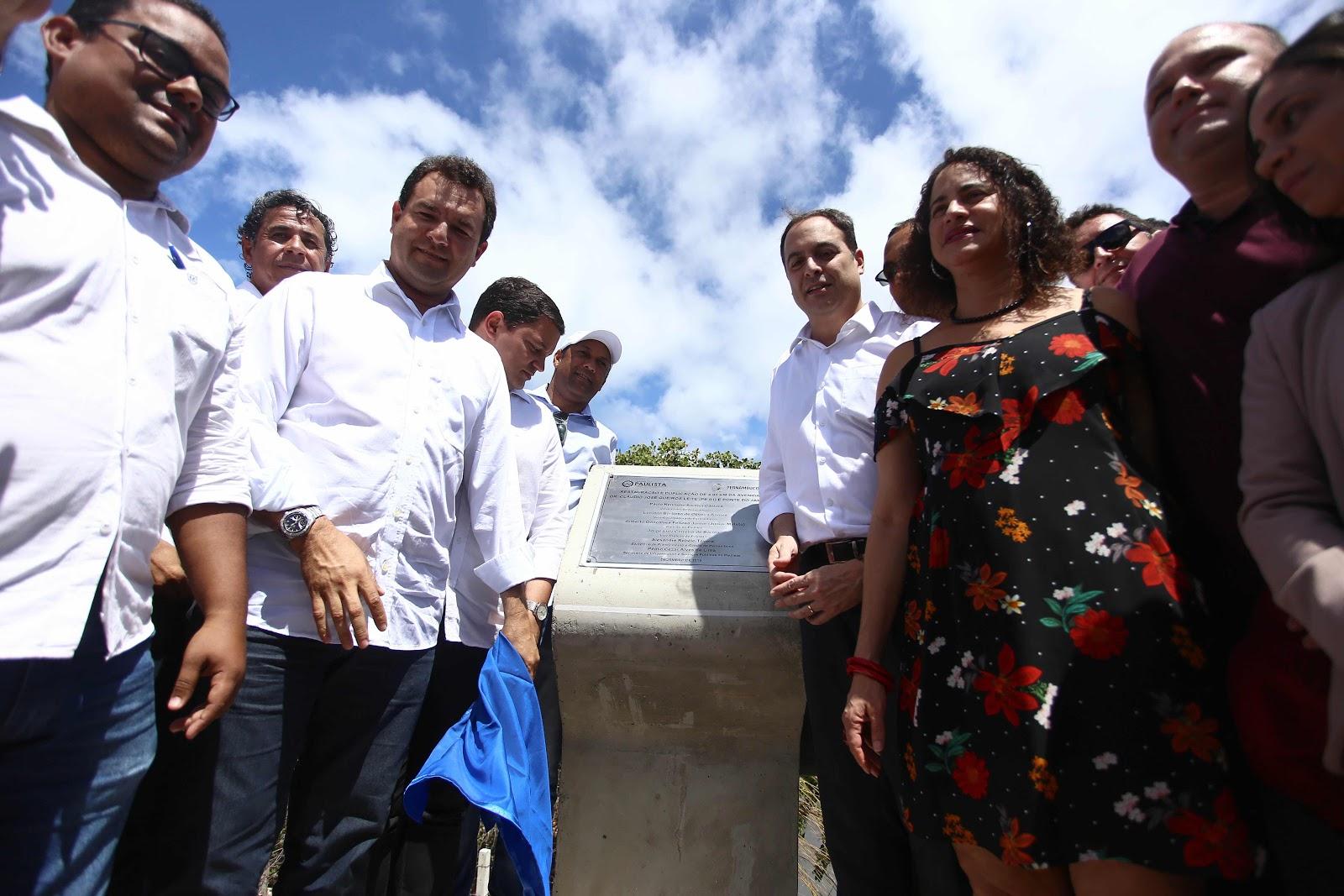 Obras de requalificação e duplicação da Ponte do Janga e PE-01 são entregues pelo Governo do Estado e Prefeitura do Paulista