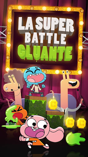 La Super Battle Gluante  captures d'écran 1
