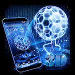 3D Neon Hologram Theme Icon