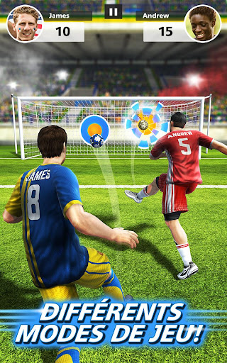 Football Strike - Multiplayer Soccer  captures d'écran 3