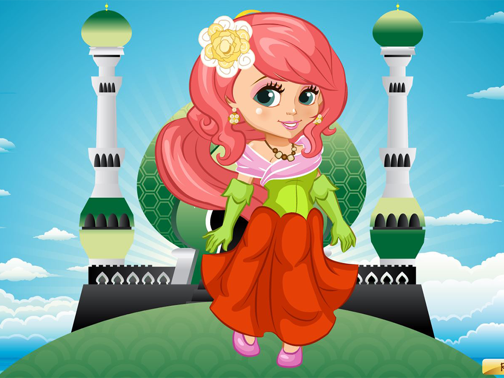 Dress up princess doll - Dress Up Beauty Doll Princess Screenshot