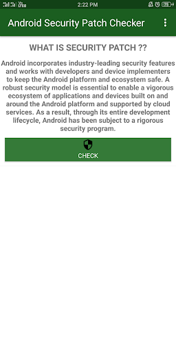 Android Security Patch Checker  screenshots 2