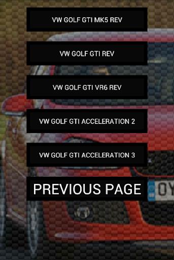 玩免費遊戲APP|下載Engine sounds of Golf GTi app不用錢|硬是要APP