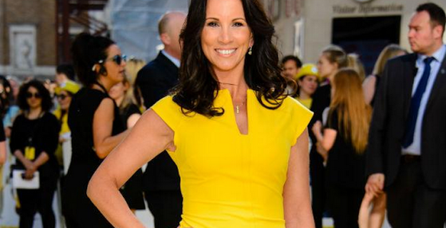 Andrea McLean buys wedding dress with fiance Nick Feeney