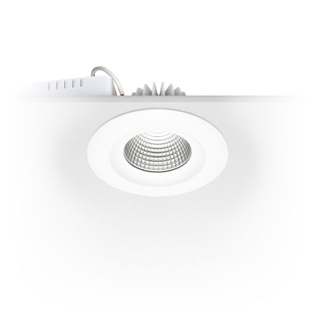 Xerolight Cobh LED Downlight Vit Fast IP44 Inkl. Driver