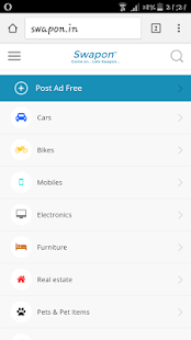 Swapon Free Ads Classifieds- screenshot thumbnail
