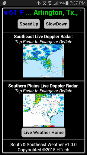 South Southeast Weather Pro