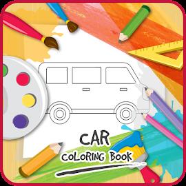 Car coloring book