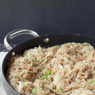 Easy 15-minute Chow Mein