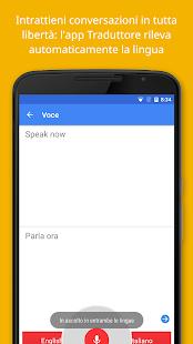 Google Traduttore- miniatura screenshot