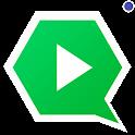 Imagens e videos para whatsapp icon