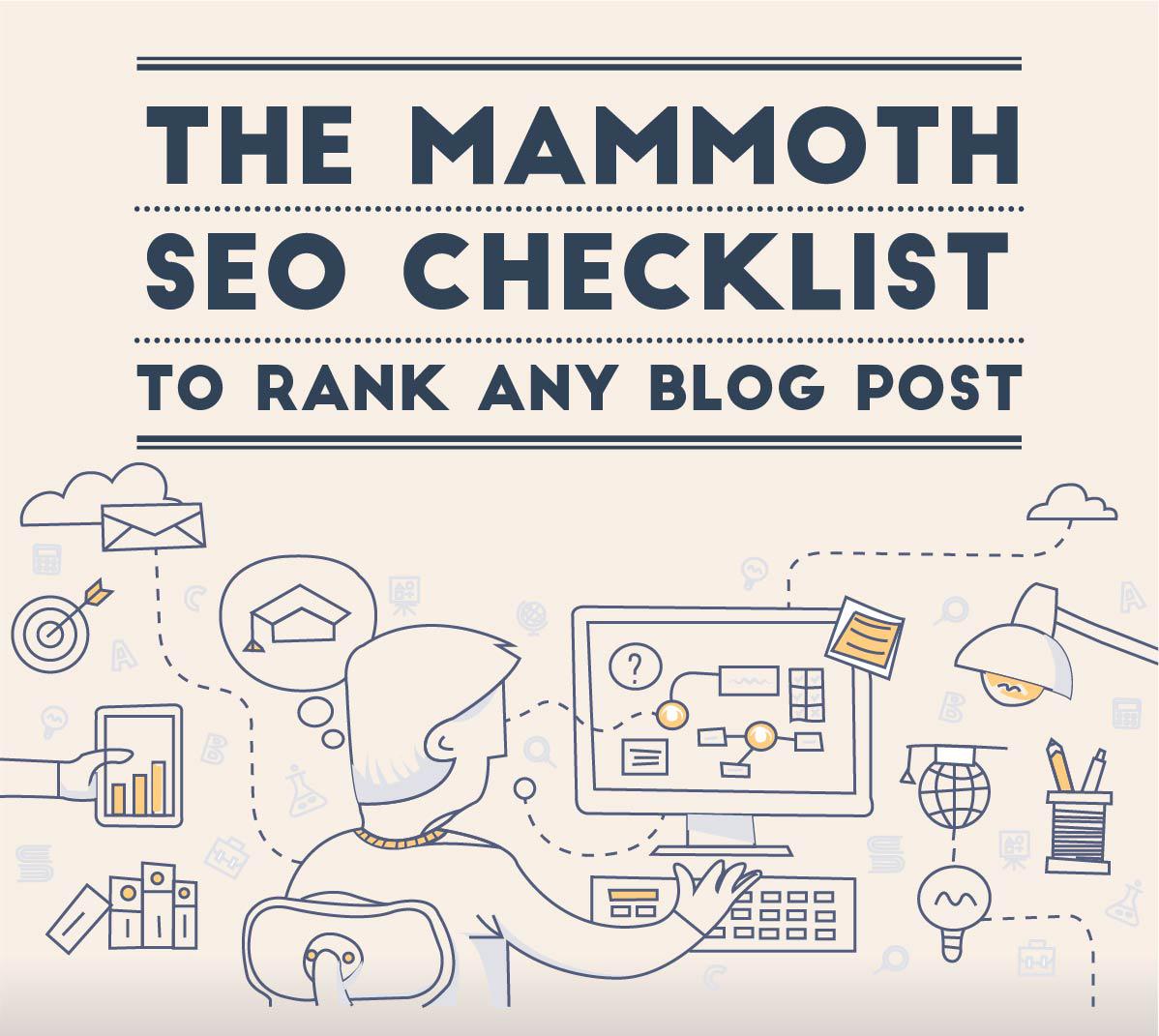 CU] SEO For Blogs Checklist