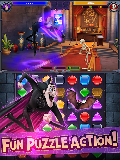 Hotel Transylvania: Monsters! - Puzzle Action Game 1.6.2 screenshots 7