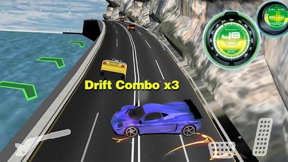 speed racing car drift 3D Gratis