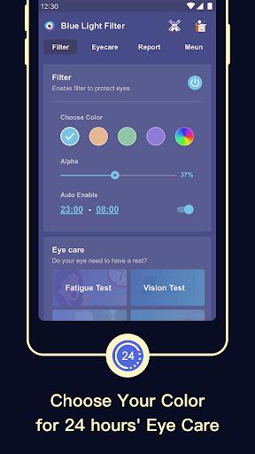 Blue Light Filter u2013 Screen Dimmer for Eye Care  screenshots 3