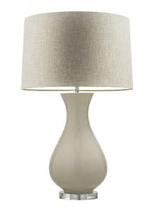 Heathfield & Co Bordslampa Somerton Creme - lavanille.com