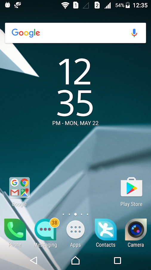 Sailfish Theme for Xperia- screenshot