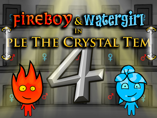 เกมน้ำกับไฟ ภาค 4 : Fireboy and Watergirl 4 In The Crystal Temple