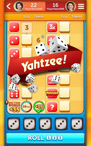 New YAHTZEE® With Buddies Dice Game game (apk) free download for Android/PC/Windows screenshot