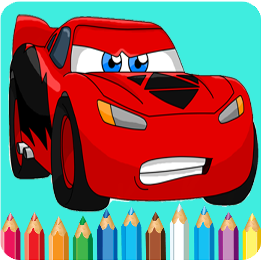 How To Color Lightning mcqueen