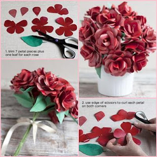 Flower Paper Craft Tutorials