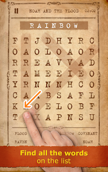 Word Search Bible + christian apk screenshot