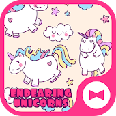 Cute Wallpaper Endearing UnicornsTheme