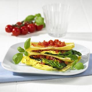 Spinach, Tomato and Ricotta Lasagna