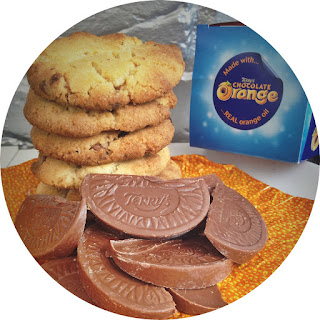 Terry's Chocolate Orange Cookies.