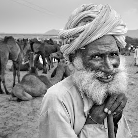old man by CHETAN SONI - People Portraits of Men