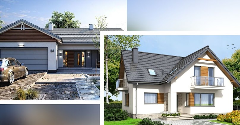 Projekt domu: parterowy czy z poddaszem? Koszty budowy