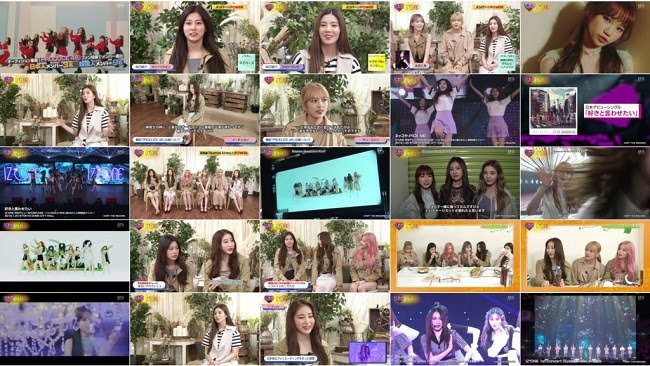 [TV-Variety] ラブラブK-POP!POWER~IZONE (2019.08.08)
