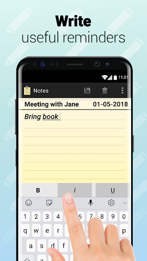 Notes with Caller ID - screenshot